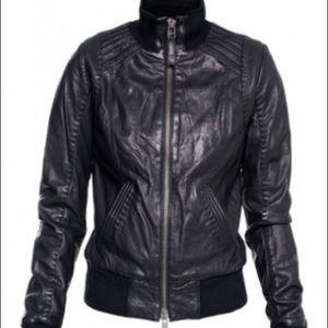 SOLD - Danier Leather Jacket size 3XS